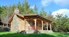 Small Log Cabin Plans . . . Refreshing Rustic Retreats!