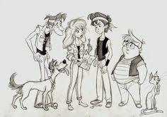 Risultati immagini per Sandro Cleuzo Cartoon Characters Sketch, 80s Characters, Cartoon Sketches, Character Sketches, Kid Character, Character Design Animation, Character Drawing, Character Illustration, Character Concept