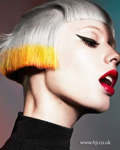 Mark Leeson - 2013 Schwarzkopf Professional Colour Technician of the Year Finalist - HJI Creative Hairstyles, Cool Hairstyles, Colored Bobs, Avant Garde Hair, Schwarzkopf Professional, Hair Color And Cut, Hair Colour, Creative Colour, Hair Art