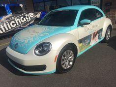 Ma Chérie Bleue #carwrap #3M #3Mvinyl Car Wrap, Print Wrap, Vehicle Wraps, Blue