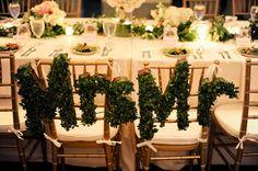Tablescape, Cadre Building, Flowers by: Garden District - Memphis Wedding http://caratsandcake.com/rye