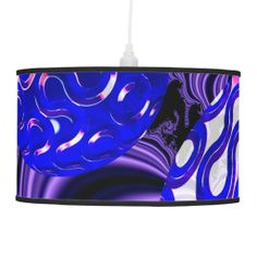 Ocean Pearls, Abstract Treasures from the Deep Ceiling Lamps $101.00