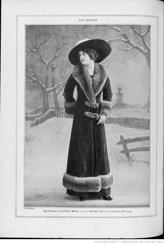 Les Modes : revue mensuelle illustrée des Arts décoratifs appliqués à la femme | 1910-10 | Gallica