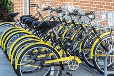 Community Bikes are back on campus!