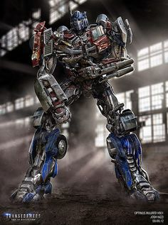 Transformers News: Re: Transformers: Age of Extinction Concept Art Optimus Prime before upgrade Transformers Cybertron, Transformers Bumblebee, Transformers Optimus Prime, Transformers Characters, Verona, Anime Manga, Concept Art, Robots, Action Figures