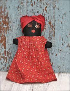 Vintage Mammy Doll
