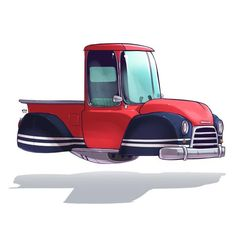 Vehicle Illustrations by Ido Yehimovitz | Cuded