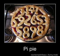 @Alisha Sopota Packard Bowen  Now this is a pie for Pi Day