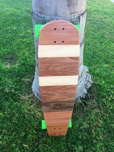 Longboard 2 Sided 36x10 Solid Wood Tartacay