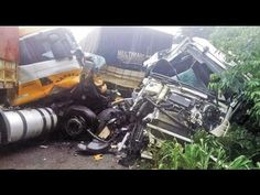 Acidentes com caminhões ao vivo