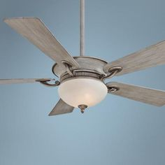 "For the Master BR in Condo? 52"" Minka Aire Delano Driftwood Ceiling Fan - #5X292 