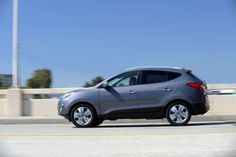 The 2015 Hyundai Tucson is a stylish choice in the compact crossover segment, with solid but unexciting powertrains and a strong feature set. Find out why the 2015 Hyundai Tucson is rated by The Car Connection experts. Crossover Suv, Motorcycle Campers, New Hyundai, Tucson, Cars, Vehicles, Motorcycles, Lineup, Autos