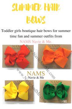 NavieAndMe| Summer hair bows. School uniform bows. #summerhairbows #summer #hairbows #hair #bows #schooluniformbows #schoolbows #uniformbows #schoolaccessories #sweets #cute #b2s #backtoschool