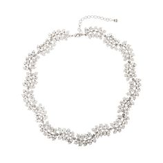 Martine Wester Ivy Collar Necklace - Bridal Jewellery - Crystal Bridal Accessories