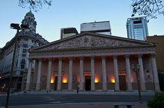 "Catedral de Buenos Aires.  Alli hice mi ""Confirmacion"""