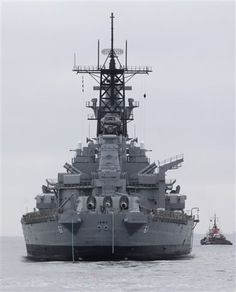 USS Iowa - my grand-dad's ship.  Would LOVE have to this print to hang on the wall in Zac's room!!