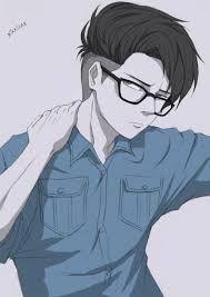Anime Male Glasses : anime, glasses, Anime, Glasses, Ideas, Guys,, Glasses,