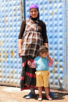 Kurdish Woman with Child