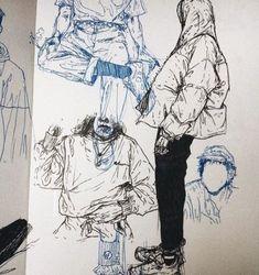 Super fashion design sketchbook illustrations inspiration 54 Ideas - Fashion World Illustration Inspiration, Sketchbook Inspiration, Illustration Art, Sketchbook Ideas, Drawing Sketches, Art Sketches, Art Drawings, Sketching, Fashion Design Sketchbook