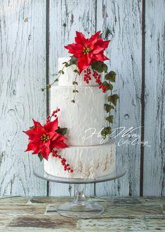 White Christmas by Hazel Wong Cake Design