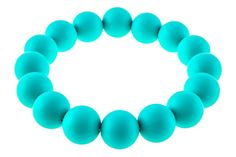 Amazon.com : Kitdine Round Chewable BPA Free Silicone Baby Teething Necklace for Mom and Baby (Turquoise) : Baby
