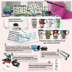 Sublimation Printers with Heat Transfer Papers