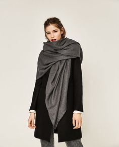 Image 4 of SUPER SOFT PLAIN SCARF from Zara