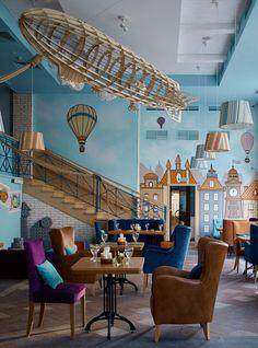 Семейное кафе в Москве