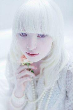 Nastya -- Albino - Beauty - Portrait - Photography