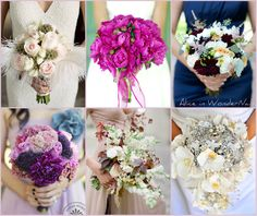Wedding Details on Alice in WonderNails: Bouquets inspirations