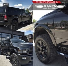 #Happy #Monday #Ravens! The #Calgary North team had us all #drooling over this #Ram 2500. Adding a painted to match #100XL #Leer #Canopy #Ironcross side ... & ram 2500 #low and wide #no lift 40s | XL RAM 2500 | Pinterest