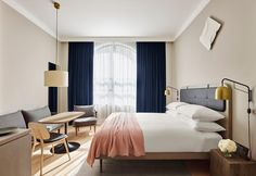 L'ultimo progetto dell'hotellier Aby Rosen realizzato dagli architetti Beyer Blinder Belle è l'incontro perfetto tra il gusto nord europeo e l'estetica newyorkese