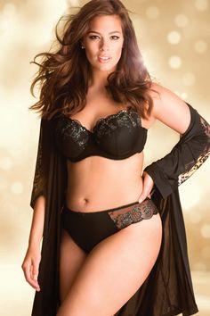 Addition Elle Holiday Lookbook 2012, Ashley Graham, plus size