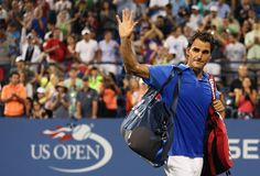 Reeves Wiedeman on Roger Federer's loss at the U.S. Open: http://nyr.kr/1ec9uiO (Photograph by Clive Brunskill/Getty.)