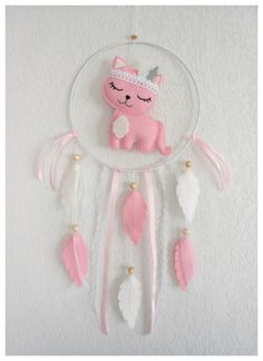 Patchwork Blanket Diy Felted Wool 69 New Ideas Mobiles, Handmade Crafts, Diy And Crafts, Diy Dream Catcher Tutorial, Chat Rose, Dream Catcher Craft, Patchwork Blanket, Felt Decorations, Christmas Gifts For Kids