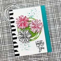 Color & Contour Happiness - Aromas and Art Diy And Crafts, Paper Crafts, Color Contour, Thing 1, Stamping Up Cards, Card Tags, Art Pages, Creative Cards, Flower Cards