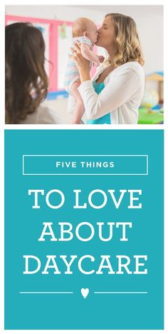Finding childcare can be a tough decision – there are always going to be drawbacks and benefits. Here are 5 things to love about daycare.