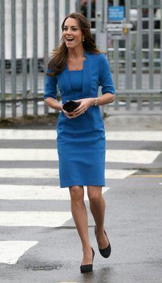 Kate Middleton in LK Bennett