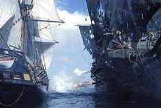 The Interceptor vs. The Black Pearl