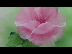 NO2 Pink Rose Oil Painting - YouTube