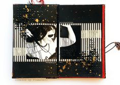 danse macabre - journal by finnabair, via Flickr