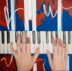 Music-acrylics in canvas
