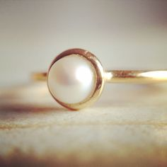 Pearl Ring by My Golden Age