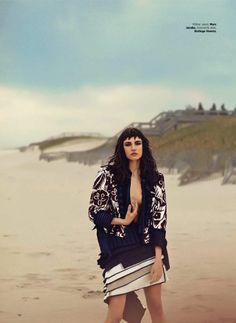 Harper's Bazaar Turkey June 2014 | Jacquelyn Jablonski by Riccardo Vimercati