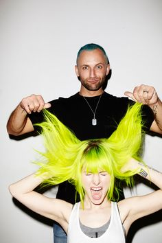 Hayley Williams andBrian J O'Connor for Good Dye Young.