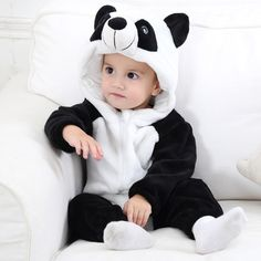 cf4c11398 Panda Baby Boys & Girls Animal Onesies Cute Costume High Quality Cute  Costumes, Baby Boys