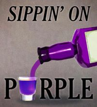 Sippin' on purple!