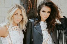 Nina Dobrev and Julianne Hough for The Giving Keys' #BestFriendKeys Photoshoot