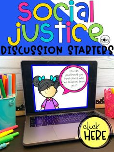 These social justice discussion sharing cards provide discussion topics to spark conversation about social justice. This resource contains 48 Social Justice sharing card prompts. The cards are separated into four core goals of anti-bias education.