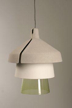 Schirme lamp - Dominik Hehl